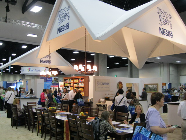 Nestle Exhibition Booth : Ada fnce chef services group and nestle brands