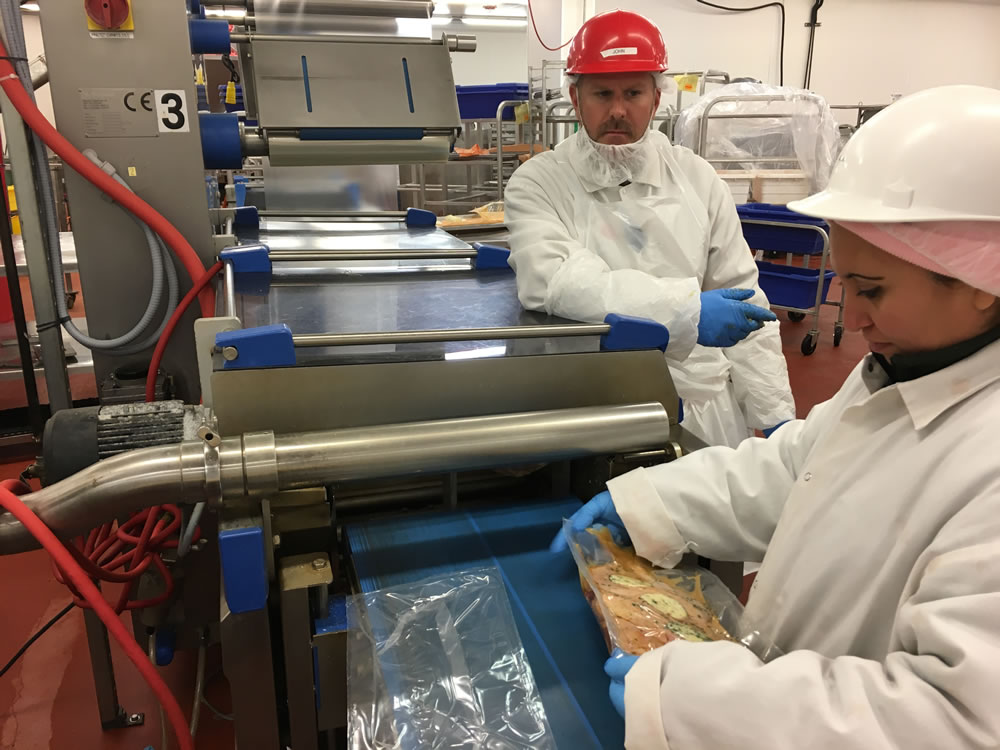 our food manufacturing consultants can meet any project need